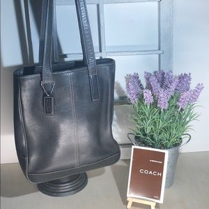 Coach ~ Leather Bucket Style Handbag